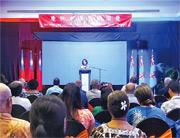 兩岸外交人員在本月8日於斐濟發生肢體衝突,雙方互相指摘對方挑釁。圖為10月8日,台灣駐斐濟代表處在當地酒店舉行雙十節酒會,其間有兩名大陸外交人員進入現場,隨後雙方發生打鬥。(網上圖片)