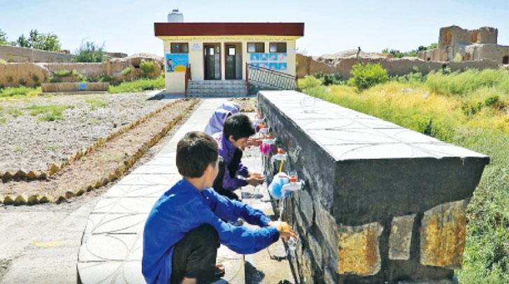 In Afghanistan, sanitary facilities in schools are renovated to improve children's health and well-being. (Photo: Qauom Abdullahi/World Vision)