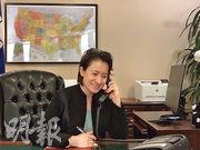 台灣駐美代表蕭美琴於14日致電美國總統當選人拜登的外交政策顧問布林肯,代表台灣政府祝賀拜登與副總統當選人賀錦麗。(中央社)