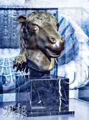 馬首銅像(資料圖片)