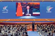 國家主席習近平昨在第十七屆中國-東盟博覽會和中國-東盟商務與投資峰會開幕式以視像致詞時說,中國-東盟關係已成為亞太區域合作中最為成功和最具活力的典範,成為推動構建人類命運共同體的生動例證。(法新社)