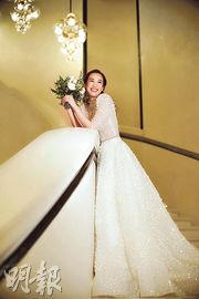 岑杏賢說疫情下有個難忘婚禮。