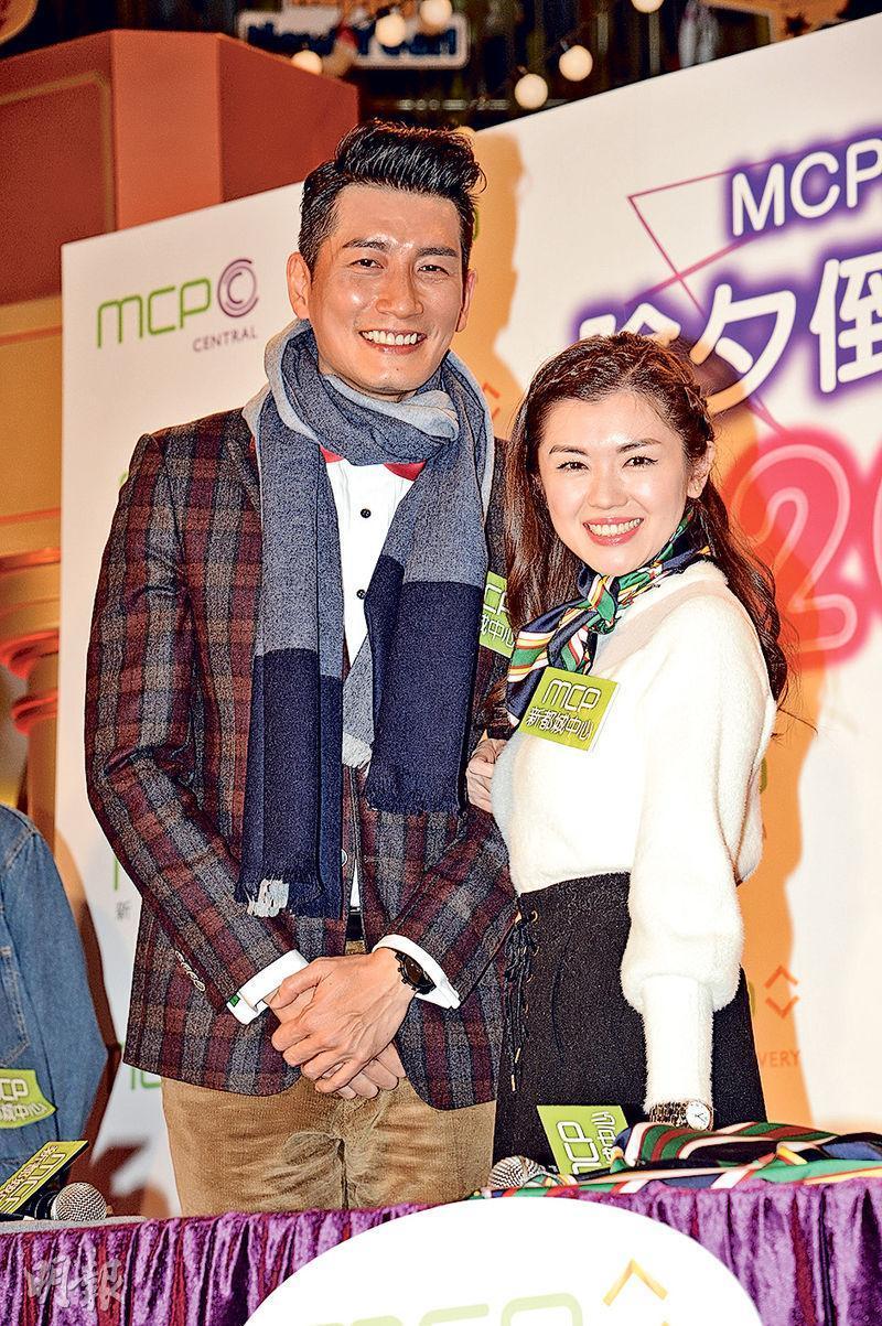 袁文傑(左)與張潔蓮(右)拍拖9年,一直表現恩愛,最近入紙申請註冊結婚。(資料圖片)