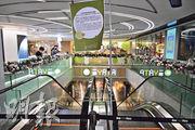 沙田一田百貨多達10名員工確診或初步確診,該分店暫停營業至另行通知。(賴俊傑攝)
