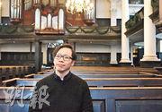 1980年代末移居英國的Wilson認為,隨着香港局勢改變,新一波港人移民潮是必然發生,寄語移居英國的港人關心香港之餘,也要融入英國社會。(陳家俊攝)