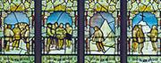 The Scott Window in St Peter's Church, Binton.
