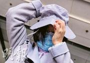 李東海小學前校長羅婉儀(圖)昨在庭上回應種種指控,對校內前同事指她不尊重教師,羅稱「我真係唔知點解佢哋會咁講」,「我都想畀人接納」。(李紹昌攝)