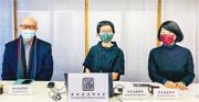 香港建築師學會會長蔡宏興(左一)建議政府加強資訊透明度及建立保育項目數據庫,並設立民間溝通渠道,關注香港文化遺產保育工作。(香港建築師學會提供)