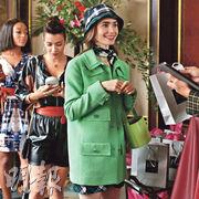 莉莉哥連斯(前)憑《艾蜜莉在巴黎》人氣急升。
