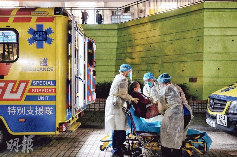 救世軍南山邨長者之家一名院友初步確診,上月21日曾有護理員到場任替工,為院友更衣及洗澡,其後確診。該院舍的部分職員和約40至50名院友須檢疫。(賴俊傑攝)