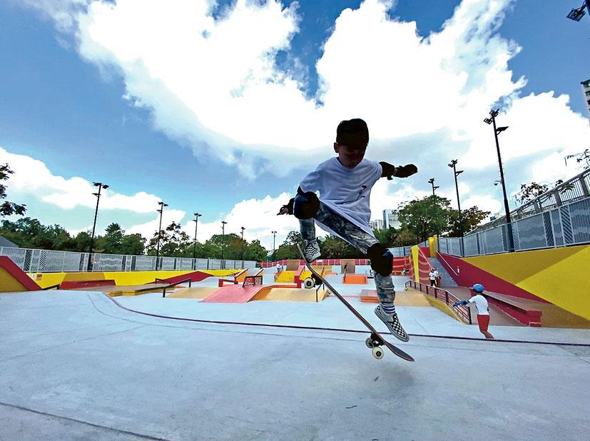 滑板是運動?
