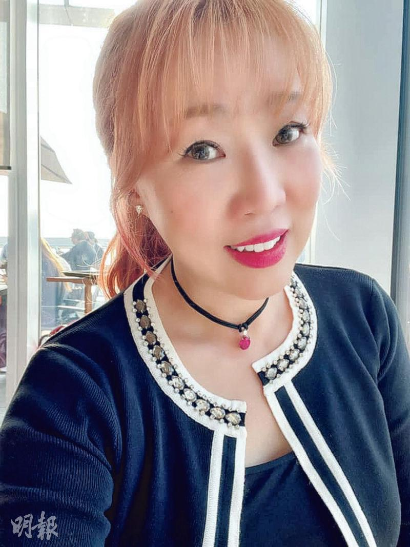 唐安麒大讚未婚夫是上天派遣來守護她的人。(網上圖片)