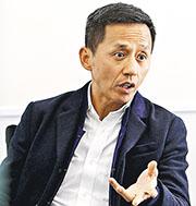 香港寬頻持股管理人及執行副主席楊主光(圖)稱,原定投資逾1億元於網購平台上,目前仍在投資中,將來亦會開發線上到線下業務。(資料圖片)