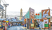曼谷的翟道翟周末市集是受歡迎景點之一。(Subodh Agnihotri@iStockphoto)