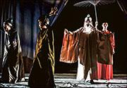 演出《馬克白》期間,有女觀眾因劇中人物經歷引起共鳴而被觸動。(受訪者提供)