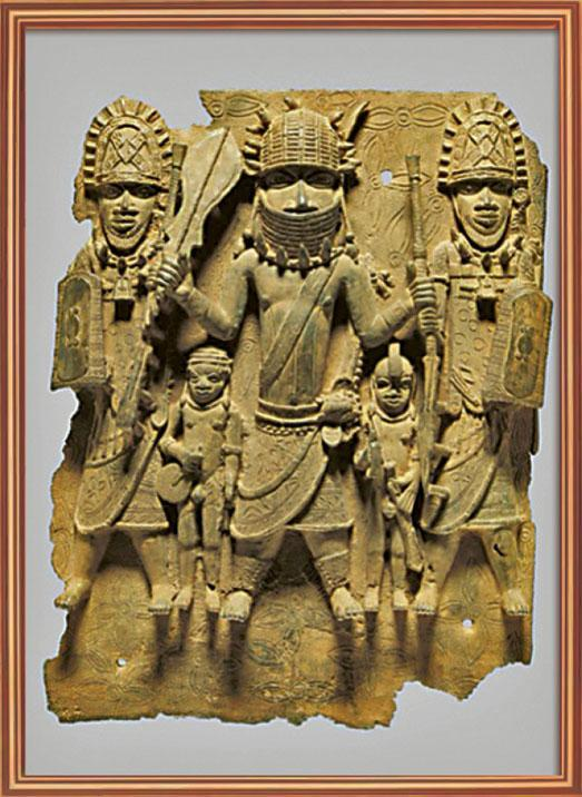 屬於貝寧王國的藏品。圖片來源:柏林民族博物館網頁截圖,網頁:smb.museum(網頁截圖)