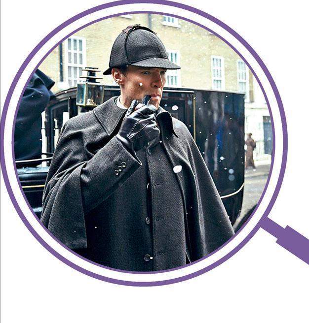 福爾摩斯是經典偵探小說,衍生出多部影視作品。圖為英國電影劇《新福爾摩斯》的外傳電影。(劇照)