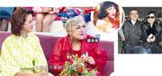邵音音在《日日媽媽聲》大爆劉丹夫婦(右圖)因她險現婚姻危機。(視頻截圖)