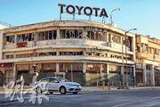 瓦羅沙變成軍事禁區多年,建築物逐漸殘破,有「鬼城」稱號。(法新社)